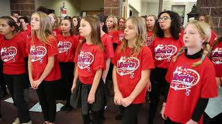 Liberty Elementary School Choir Performs Holiday Music