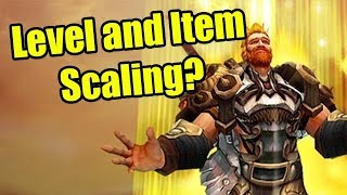 Discussing WoW BFA Item Level Scaling
