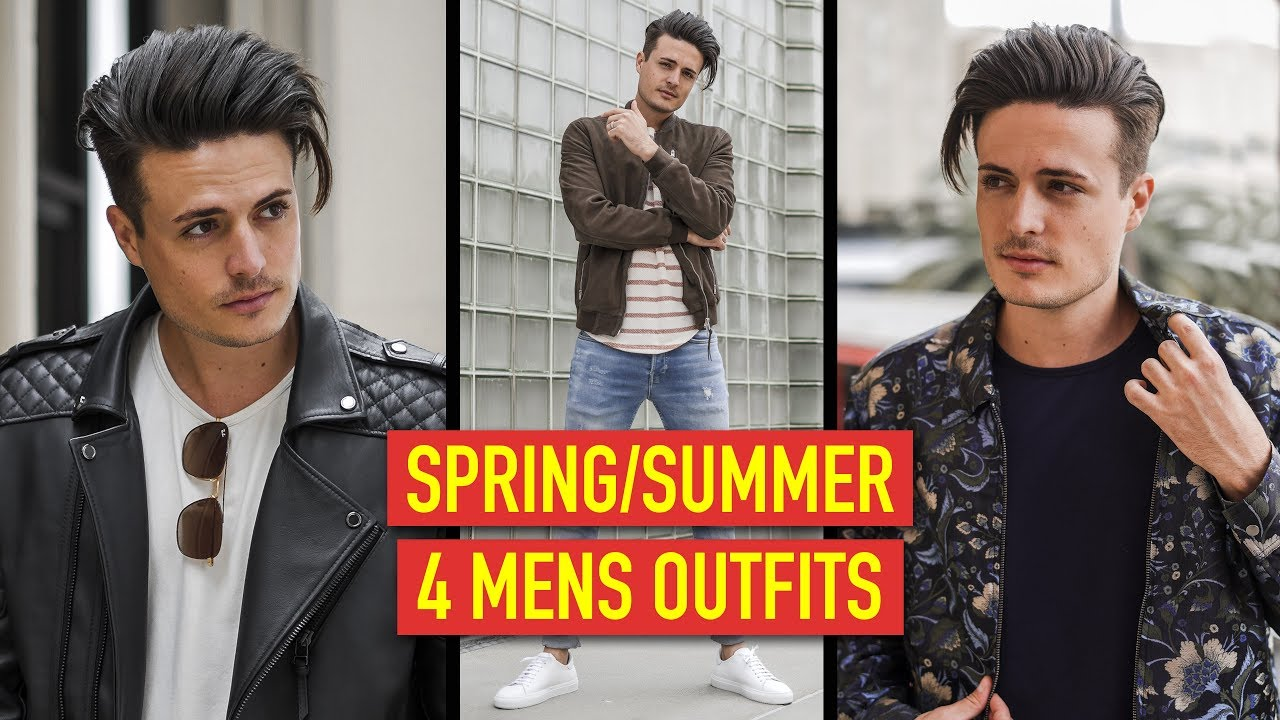 4 Mens Spring/Summer Outfits 2019 | Mens Fashion Inspiration