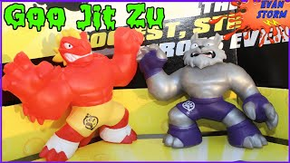 Pretend Play  Moose Toys Heroes of GOO JitZu Train Evan Storm to be a Goo Master