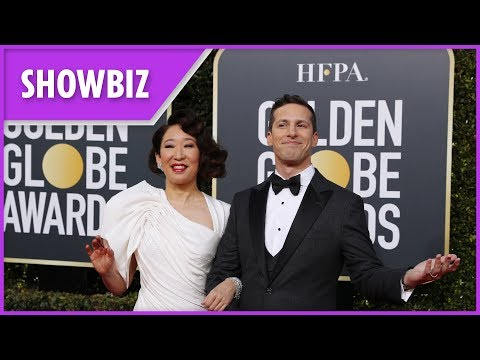 golden-globes:-best-gags-made-by-hosts-andy-samberg-and-sandra-oh