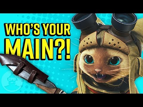What Your Monster Hunter Weapon Says About You! | The Leaderboard thumbnail