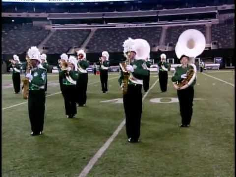 Steinert Marching Unit at Giants Stadium - October 2012