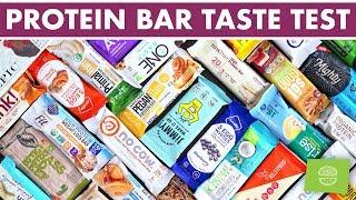 Healthy Protein Bar Review & Taste Test! | BEST Protein Bars 2019
