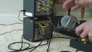 Clocking a modular sequencer with a microphone - Doepfer A-119