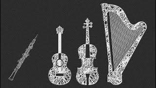 Mamour Quatuor (pour guitare, oboe, cello et harpe ) scrolling score