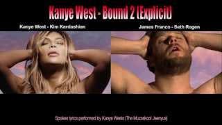 Repeat youtube video Bound 2  James Franco & Seth Rogen parody with lyrics