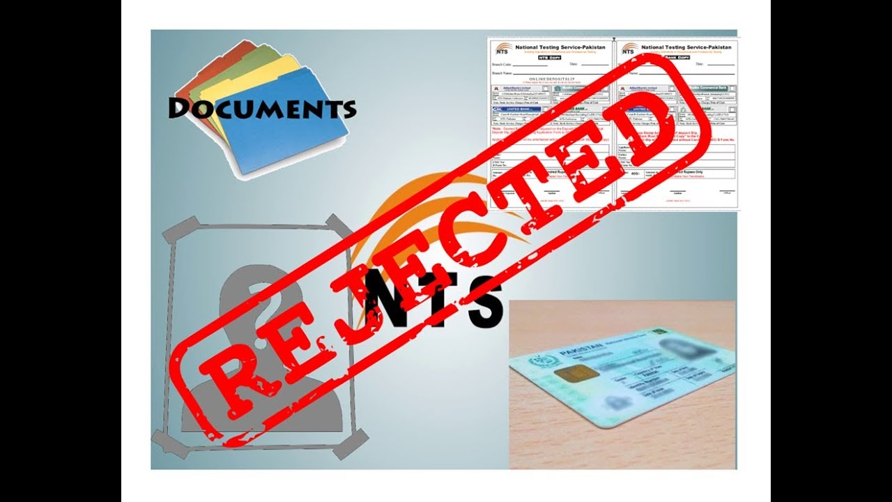 List of rejected candidates on NTS website | A Guide | Digitalized Solutions