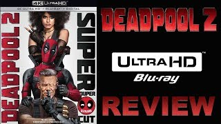 DEADPOOL 2 4K Blu-ray Review | Dolby Atmos