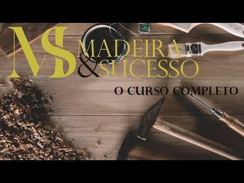 Primeiro curso de Marcenaria com Adilson Pinheiro