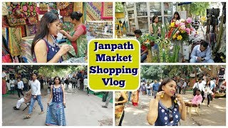 Shopping From Janpath Market   Cheap Street Shopping Market in New Delhi   Indian Mom Studio