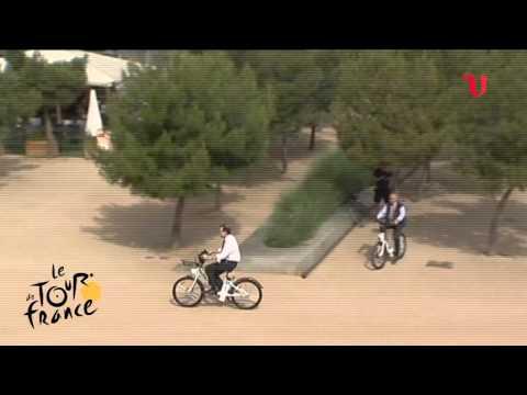 Rajoy en el Tour de Francia