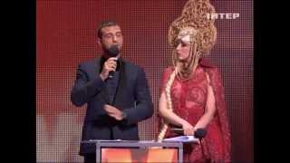 Оля Полякова и Иван Ургант - VIVA! 2012 нарезка конферанса