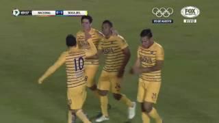 Gol de Frank Fabra - Nacional 0-1 Boca - Copa Libertadores 2016