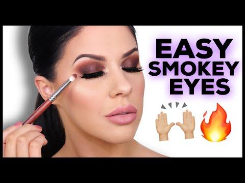 EASY BROWN SMOKEY EYES! PLUS BLENDING TIPS!!