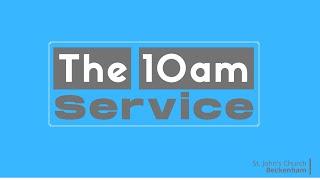 10am Morning Worship online 13th September 2020