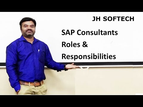 SAP Consultants Roles & Responsibilities