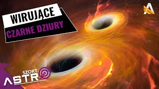 Czarna dziura wirująca prawie z prędkością światła - AstroSzort