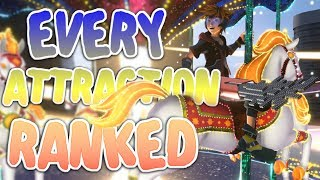 EVERY Attraction Ranked - Kingdom Hearts 3