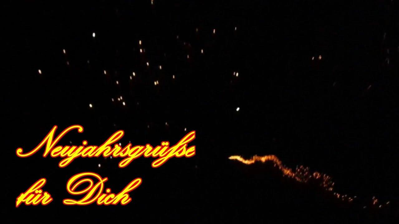 🎉🍸🎉 Silvester Video Gruß für Dich Frohes Neues Jahr Neujahr Guten ...