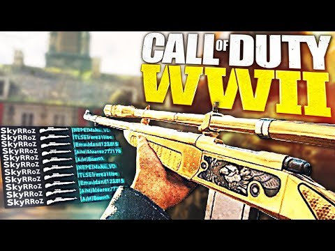 ZRKGlitcher ft SkyRRoZ  All Eyes  Me WWII Sniper Mtage