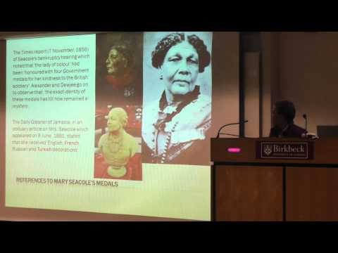Nzinga Lecture  3: Mary Seacole Fights Back ! by Professor Elizabeth Anionwu
