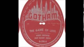 """Doris Browne    """"The Game Of Love""""      (1953)"""