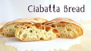 Ciabatta Bread recipe / Pane Ciabatta ricetta