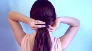 Красивые  причёски в школу для длинных волос