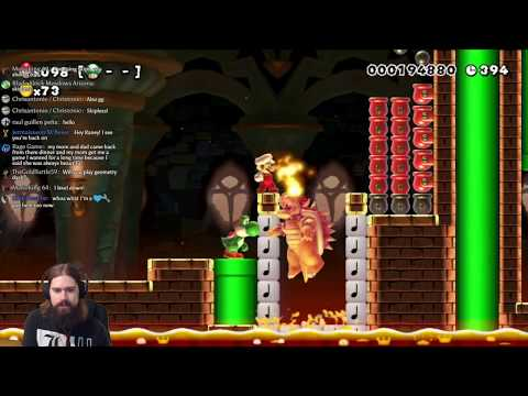 Super Mario Maker // 100 man challenge // Expert and Super Expert