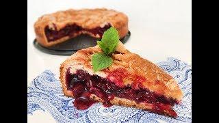 Баскский пирог с вишней - рецепт вкусной выпечки