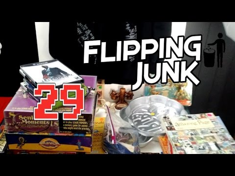 Flipping Junk - 29 - Big Retail Arbitrage Selling Pick Up and Garage Sale Finds