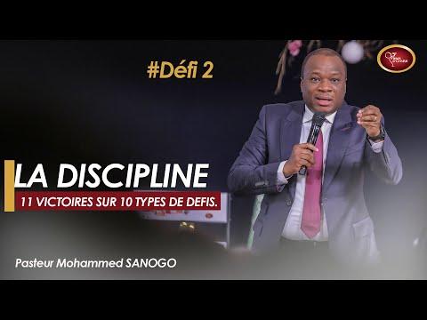 La discipline | Pasteur Mohammed SANOGO | 3e culte du Week-end [ 28-29/12/2019 ]