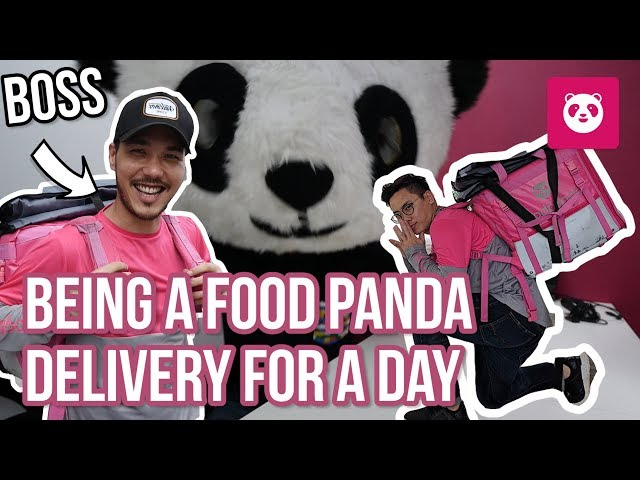 Foodpanda Delivery For a Day (Undercover Panda)