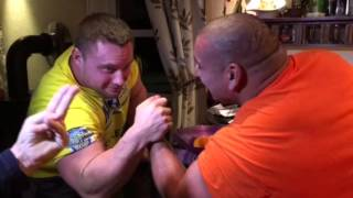Video Ervin Katona vs Krzysztof Radzikowski arm wrestling download MP3, 3GP, MP4, WEBM, AVI, FLV Agustus 2018