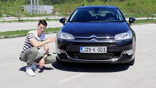 Citroen C5 2012 TEST | The Driver Videos