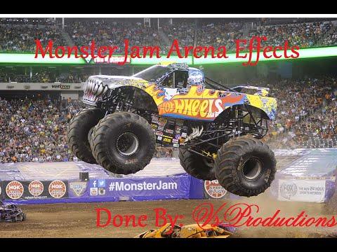 Monster Jam Arena Effects: Team Hotwheels Firestorm