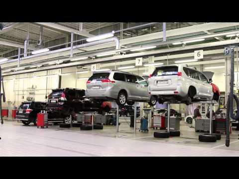 Сервис Lexus и Toyota