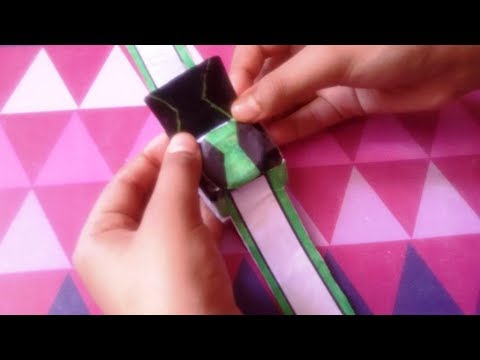 "how to make a paper ""OMNIVERSE OMNITRIX"""