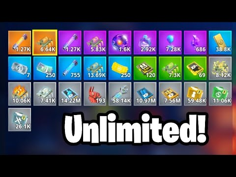 UNLIMITED RESOURCES DUPLICATION GLITCH (INSANE) Save The World Duplication Glitch
