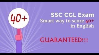 Tricks to Crack SSC CGL English Tier i & II by Love Gupta AIR 6 Video