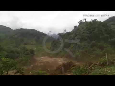 Avalancha en Nariño, vídeo 1