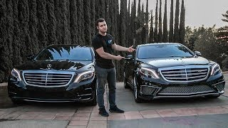 Mercedes S65 AMG vs S550 Head To Head Review - $237,000??