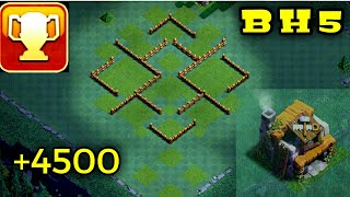BH5 Base || Anti 2 Star Builder Hall 5 Base With New Layout AnTi all Troops || Clash of Clans
