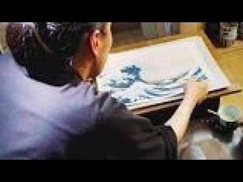 The Japanese Artist Katsushika Hokusai Old Man Crazy To Paint Bc Documentary 2017
