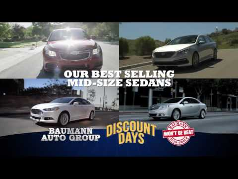 Baumann Auto Group Discount Days
