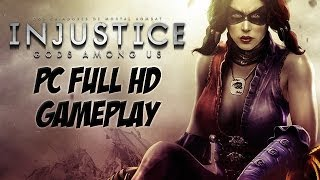 Injustice GAU - PC Gameplay on Max Settings (gtx 770)