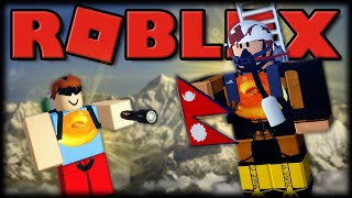 The RETURN TO MOUNT EVEREST-ROBLOX Mount Everest RP