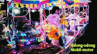Gambar cover Naik Odong Odong Mobilan dan motoran Berlampu warna-warni Cantik