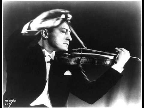 Sibelius: Violin Concerto (Heifetz) - YouTube